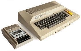 Atari 800 & cassette