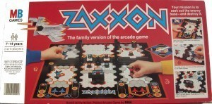 Zaxxon Board Game